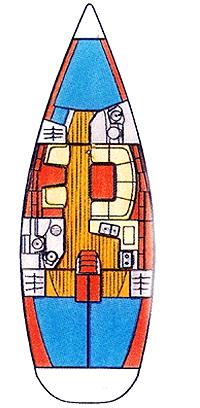 "Yachtcharteer Jeanneau Sun Odyssey 40.3 ""Larus"""