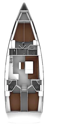 "Yachtcharteer Bavaria 46 cruiser ""Malbec"""