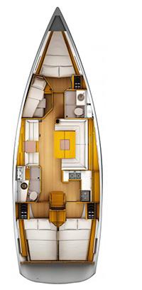 "Yachtcharteer Sun Odyssey 449 ""Beaujolais"""