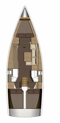 "Yachtcharteer Dufour 382 Grand large ""Médoc"""