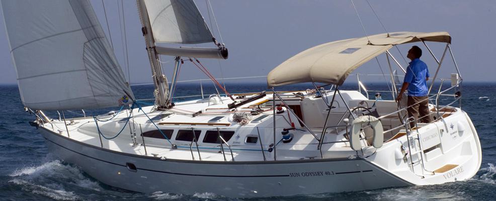 """Yachtcharter Jeanneau Sun Odyssey 40.3 """"Larus"""""""