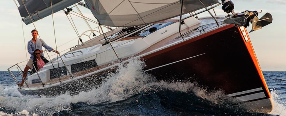 "Yachtcharter Hanse 388 ""Chablis"""