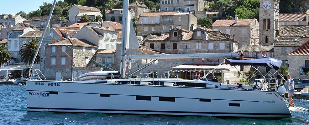 Yachtcharter DD Kufner 50 'Rosso'
