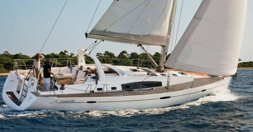 """Yachtcharter Benetaeu Oceanis 50 """"Elise"""""""
