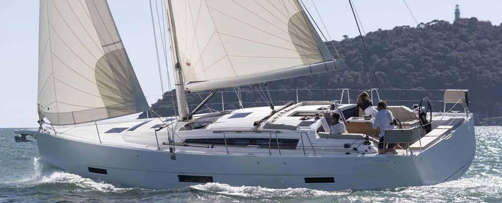 """Yachtcharter Dufour 430 GL  """"Bibi"""""""